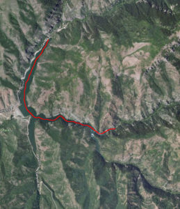Kayaking Causey Resevoir in Northern Utah.