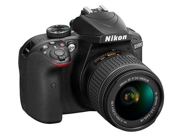 The new Nikon D3400